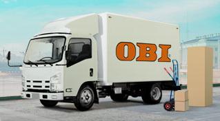Бесплатная доставка OBI
