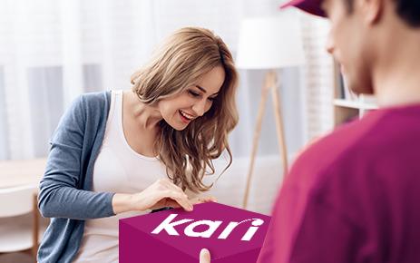 Бесплатная доставка «Kari»
